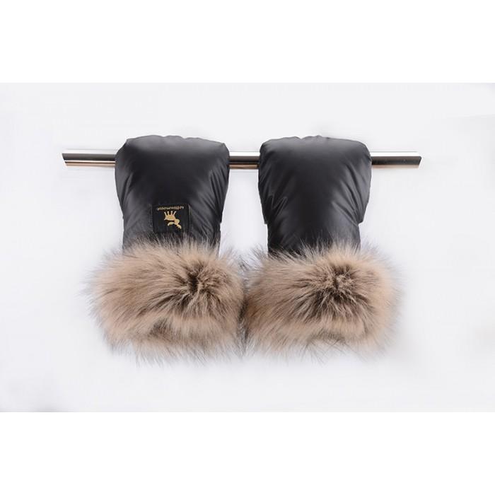 MUFF SHINE rokavičke Cottonmoose Gold