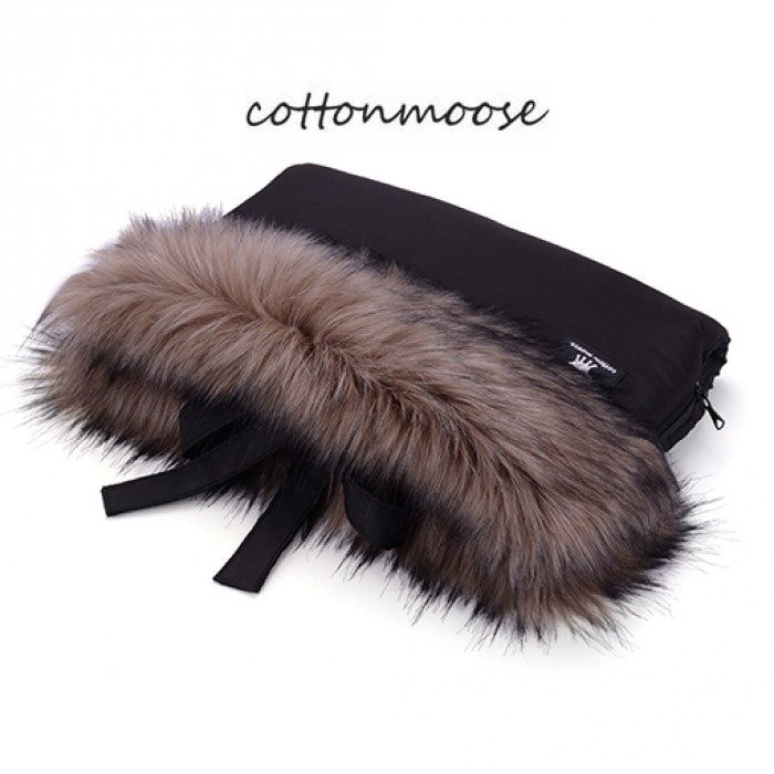 Muff rokavičke Cottonmoose Black