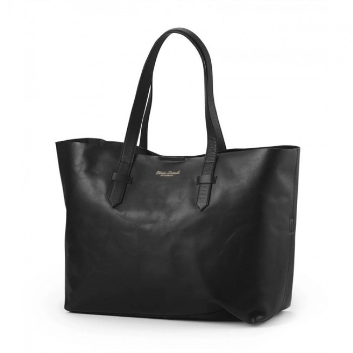 Previjalna torba Elodie Details - Black Leather