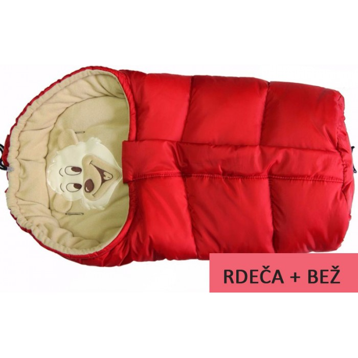 Zimska vreča Polar Bear Red