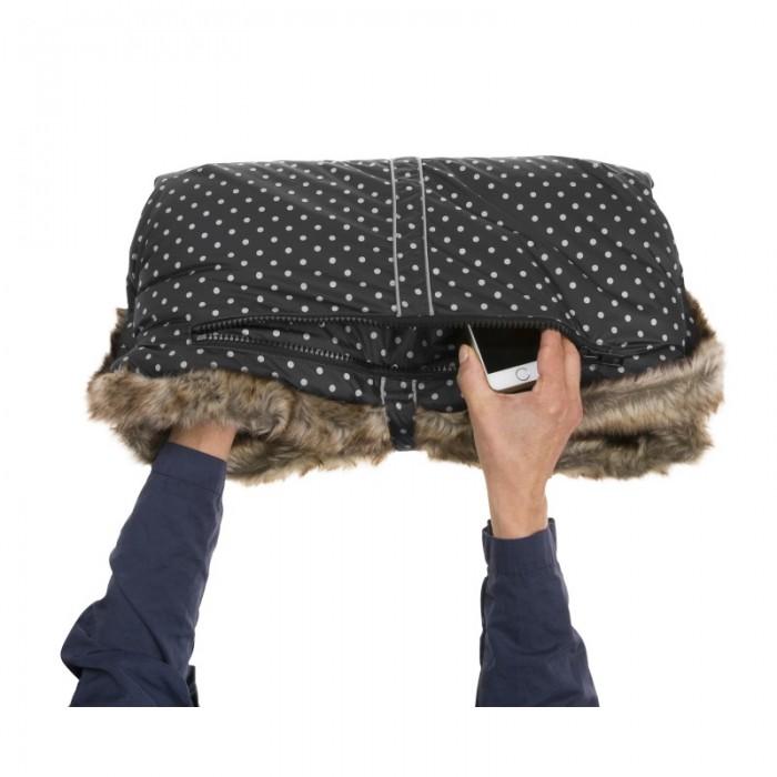 Muff rokavičke Vinter & Bloom Ebony Black
