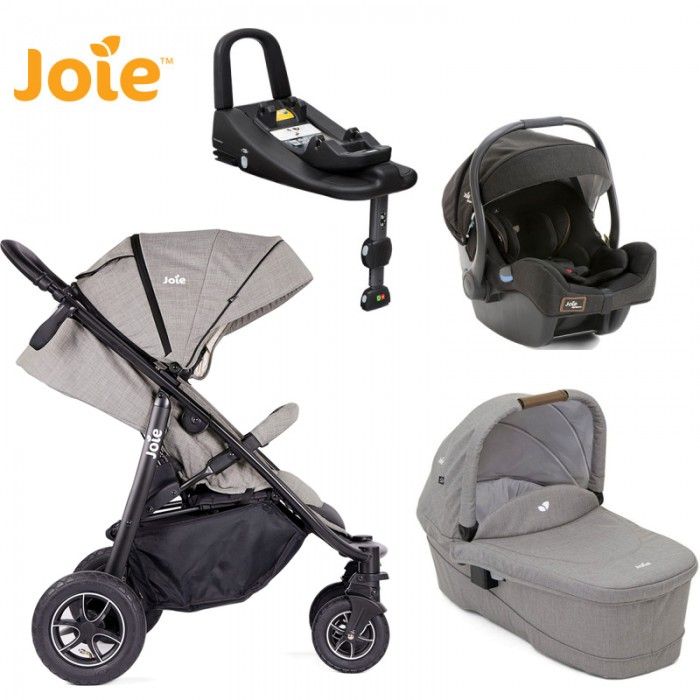JOIE MYTRAX Grey Flannel + iGemm + Isofix 4v1